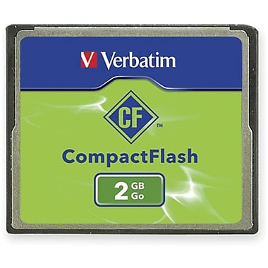 Verbatim® 47012 CompactFlash Memory Card, 2GB