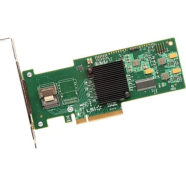 LSI Logic® MegaRAID 4 Port 64xPhysical SAS RAID Controller (9240-4i)