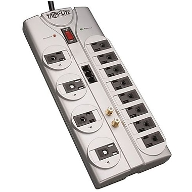 Tripp Lite Protect it!® 12-Outlet 2880 Joule Surge Suppressor With 8' Cord, Telephone/DSL