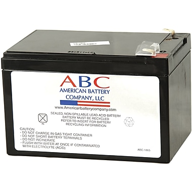 ABC RBC4 12 Ah Replacement Battery Cartridge