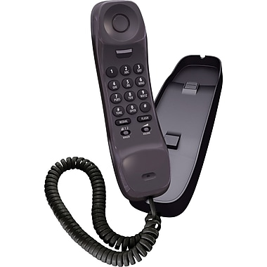 Uniden® 1100BK Desk Or Wall Mountable Slimline Corded Phone