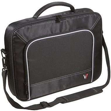 V7® CCP1-9N 16in. Professional Laptop Case, Black/Grey