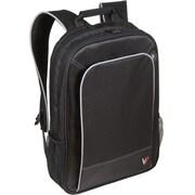 V7® CBP1-9N Professional Backpack For 16 Notebooks, Black/Gray
