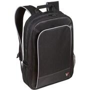 V7® CBP2-9N Professional Backpack For 17 Notebooks, Black/Gray