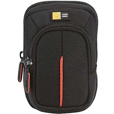 Case Logic® DCB-302 Compact Camera Case With Storage, Black