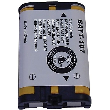 Dantona BATT-107 700 mAh Ni-MH Cordless Phone Battery For Panasonic