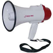 Pyle® PMP30 Megaphone PA Bullhorn With Built-in Siren, Adjustable Volume Control
