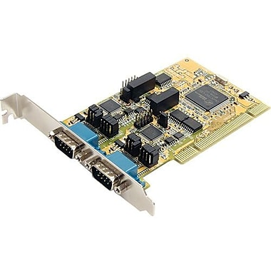 Startech.Com® PCI2S232485I 2 Port PCI Standard Profile Serial Adapter Card