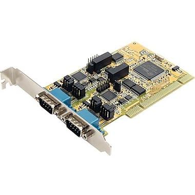 StarTech PCI2S232485I 2 Port PCI Standard Profile Serial Adapter Card