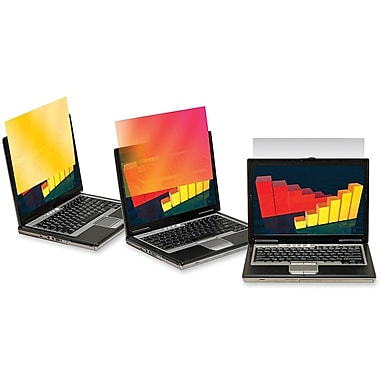3M™ Gold Privacy Filter For 13.3in. Widescreen LCD Notebook