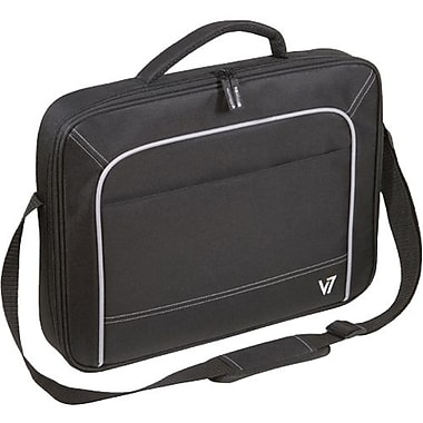 V7® CCV1-9N 16in. Vantage Laptop Case, Black/Grey