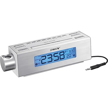 Sony® ICFC717PJ Nature Sounds Clock Radio
