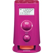 Sangean K-200 Digital Tuning FM/AM Kitchen Radio, Pink