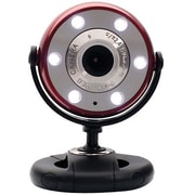 Gear Head™ WCF2750HD-CP10 Webcam, 720p HD, 5 MP, Red