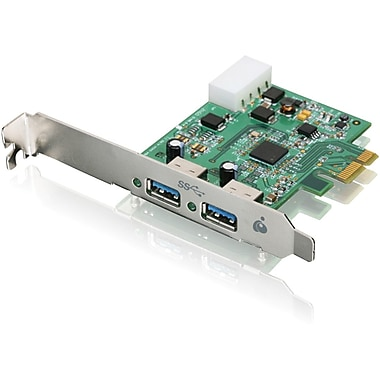 Iogear® GIC320U 2 Port PCI Express USB Adapter