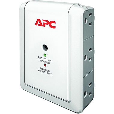 APC® Essential SurgeArrest 6-Outlet 1080 Joule Surge Suppressor