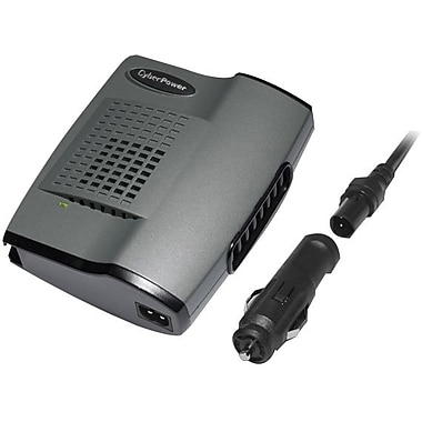 Cyberpower® 160 W Mobile Power Inverter, 12 VDC Input, 120 VAC Output, 1 Outlet