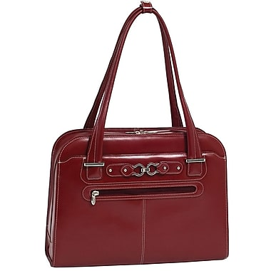 McKlein USA W Series Oak Grove Laptop Tote, Red