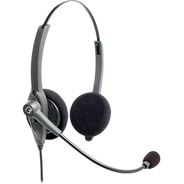 Vxi 202771 Binaural Headset With Quick Disconnect