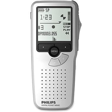 Philips LFH9380 2GB Pocket Memo Digital Voice Recorder