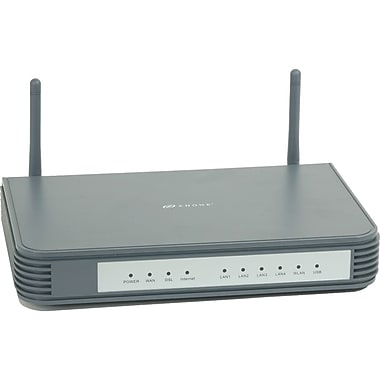 Zhone® 6718-A1-NA Modem/Wireless Router, 2.4GHz