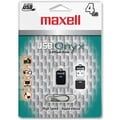 Maxell® Onyx 503051 USB 2.0 Mini Flash Drive, 4GB