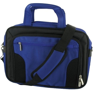 RooCase Deluxe RC-NHB10-BG10 11.6in. Netbook Case, Dark Blue