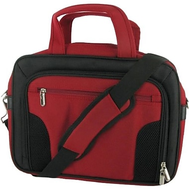 RooCase Deluxe RC-NHB10-BG10 11.6in. Netbook Case, Red