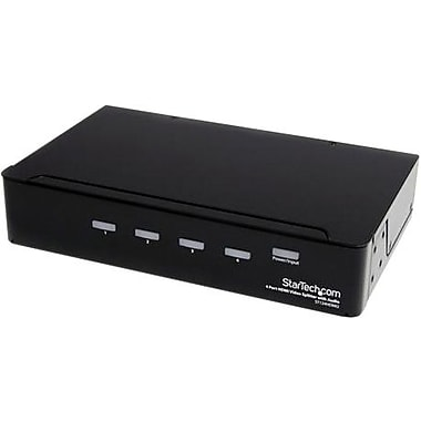 Startech.com® ST124 High Speed HDMI Video Splitter With Audio, 4 Ports