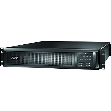 APC® SMX3000RMLV2U Line Interactive 3 kVA Rack Mountable Smart UPS