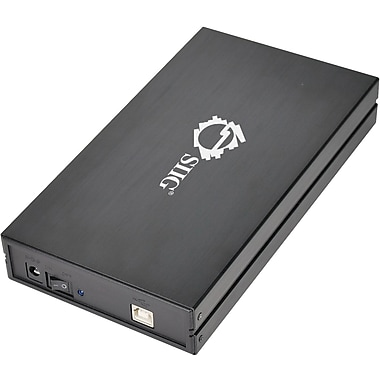 Siig® JU-SA0E12-S1 Hi-Speed USB 2.0 Enclosure For 3 1/2in. Hard Disks