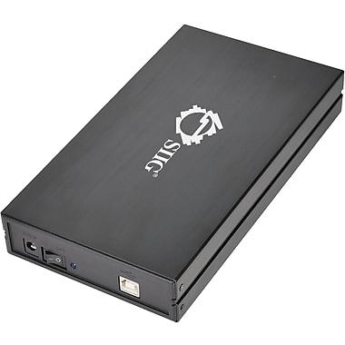 Siig® JU-SA0E12-S1 Hi-Speed USB 2.0 Enclosure For 3 1/2in. Hard Disks