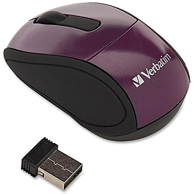 Verbatim® 97473 Wireless Optical Mini Travel Mouse