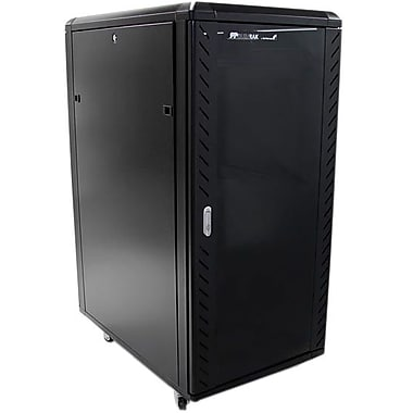 Startech.Com® RK2536BKF Knock-Down Server Rack Cabinet With Casters
