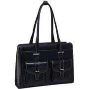 "McKlein® Alexis W Series 15.4"" Ladies' Briefcase, Black"