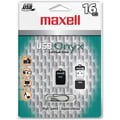 Maxell® Onyx 503053 USB 2.0 Mini Flash Drive, 16GB
