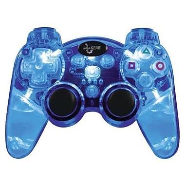 DreamGEAR® PS3 Lava Glow Wireless Controller, Blue