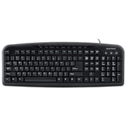 Gear Head™ KB3600MPU Windows Media Pro USB Keyboard