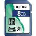 Fujifilm 600008927 Secure Digital High Capacity Flash Memory Card, 8GB