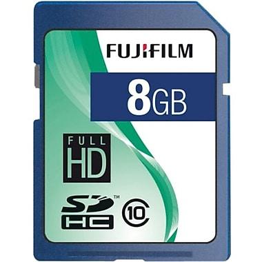 Fujifilm 600008927 Secure Digital High Capacity Flash Memory Card, 8GB