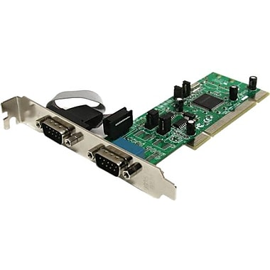 Startech.Com® PCI2S4851050 2 Port PCI Standard Profile Serial Adapter Card
