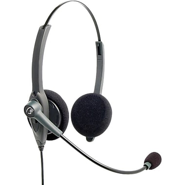Vxi 202780 Binaural Headset With Quick Disconnect