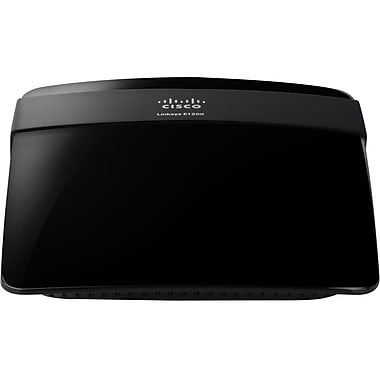 Cisco® Linksys E1200 Wireless Router, 2.4GHz