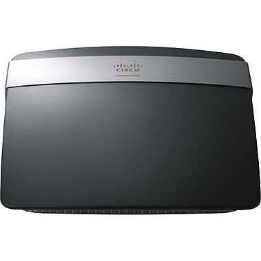 Cisco® Linksys E2500 Wireless-N Router, 2.4GHz + 5GHz