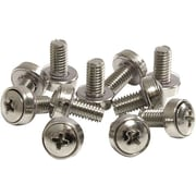 StarTech CABSCREWSM6 Mounting Screws For Server Rack Cabinet, 50/Pack