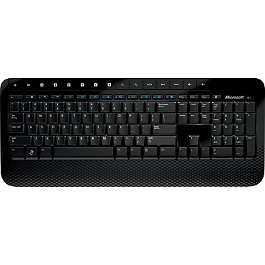 Microsoft® 2000 AES Wireless Keyboard For Business