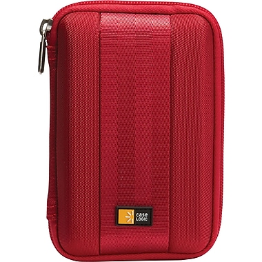 Case Logic® QHDC-101RED Portable Hard Drive Case