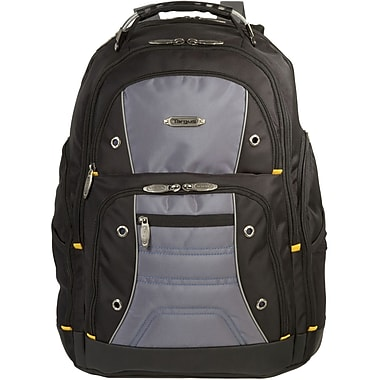 Targus® TSB238US Drifter II Backpack For 16in. Laptops, Black/Gray