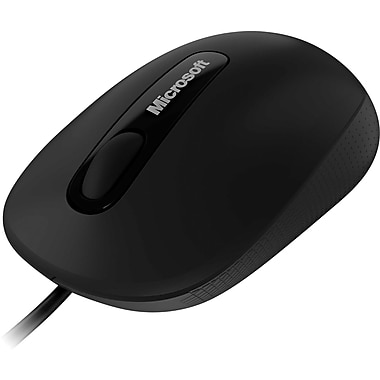 Microsoft® 3000 Black Wired Comfort Mouse For Business