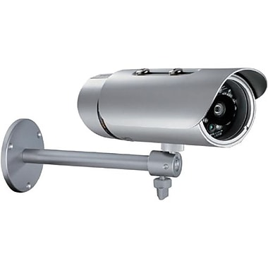 D-Link® SecuriCam DCS-7110 HD Outdoor Bullet IP Camera, 1/4in. Progressive CMOS 1 Megapixel